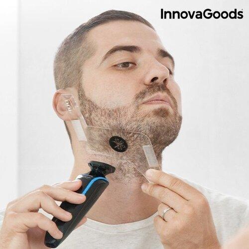 Hipster Barber InnovaGoods Wellness Beauté barzdos skutimosi forma