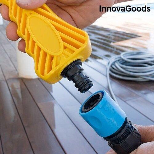 InnovaGoods Home Garden aukšto slėgio vandens pistoletas su rezervuaru 8 viename