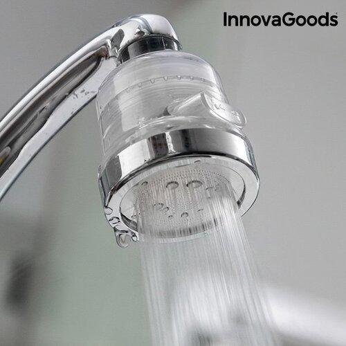 InnovaGoods ekologiškas virtuvės čiaupas, su vandens valymo filtru, Kitchen Foodies