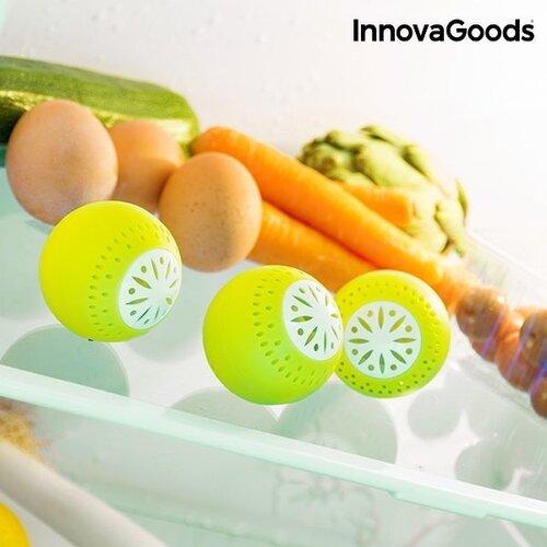 InnovaGoods Gaivūs šaldytuvo kamuoliukai ( 3 vnt. pakuotė )