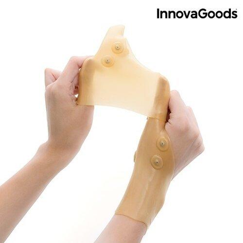 InnovaGoods Wellness Care Kompresinė riešo apsauga su magnetiniais taškais (2 vienetai)