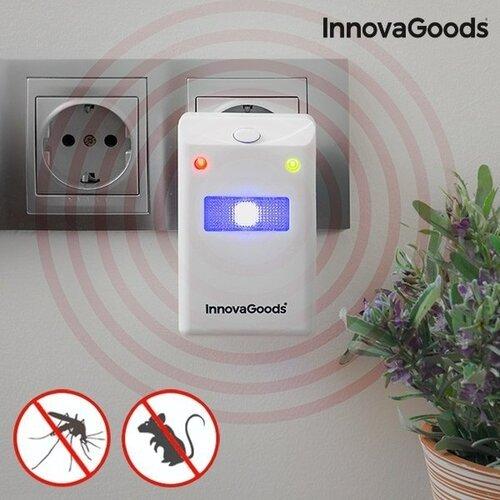 InnovaGoods Home vabzdžių ir kenkėjų repelentas su LED šviesa
