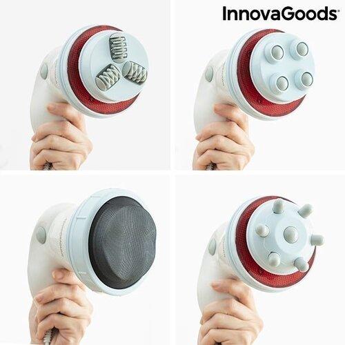 5 viename vibracinis anticeliulitinis masažuoklis su infraraudonaisiais spinduliais Cellyred InnovaGoods Wellness Beauté