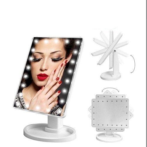 Pastatomas veidrodis su LED apšvietimu